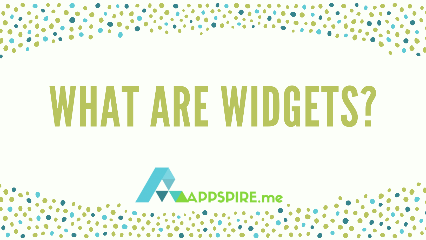What Are Widgets and How To Use Them
