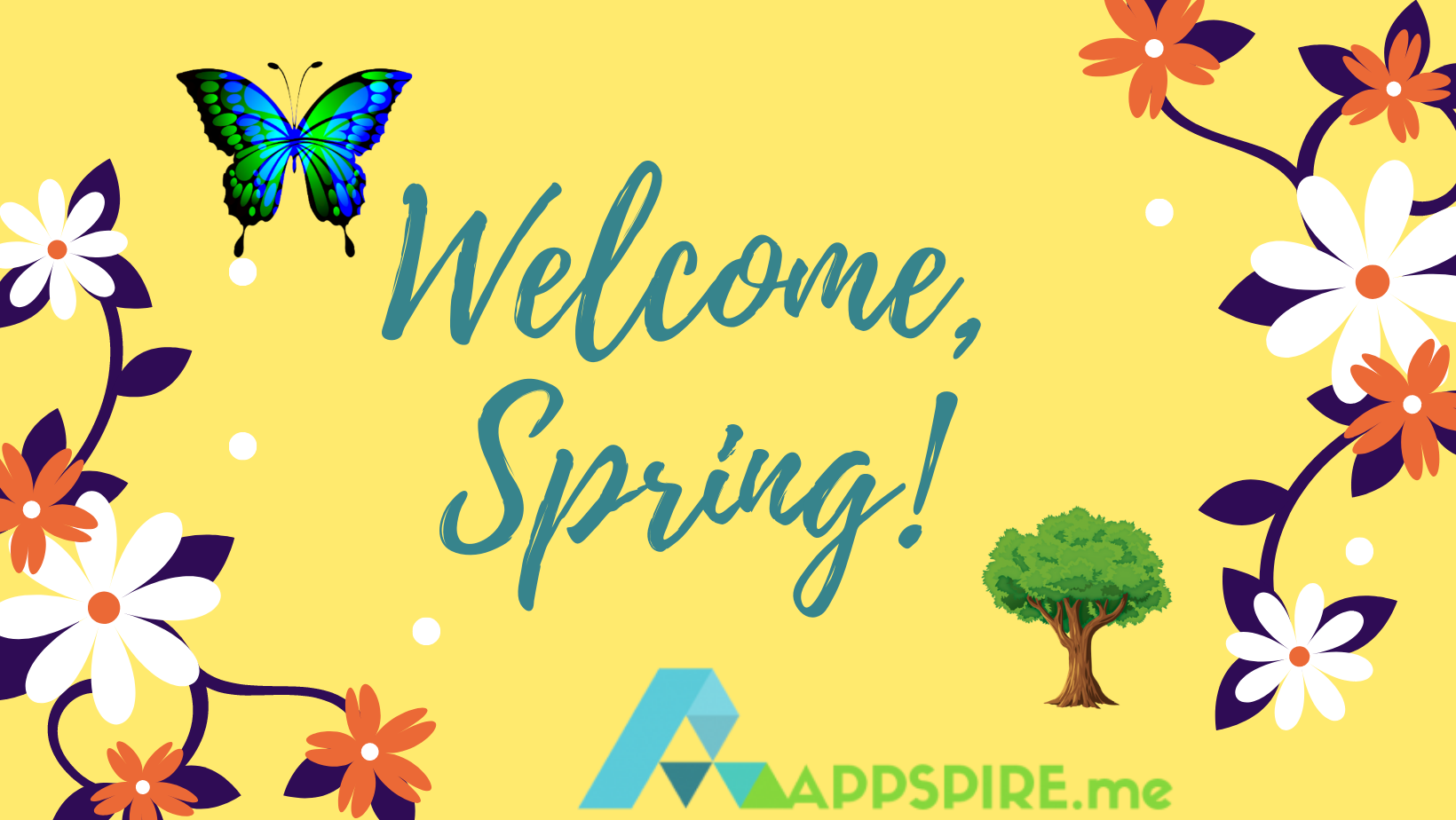 Welcome, Spring 2021!