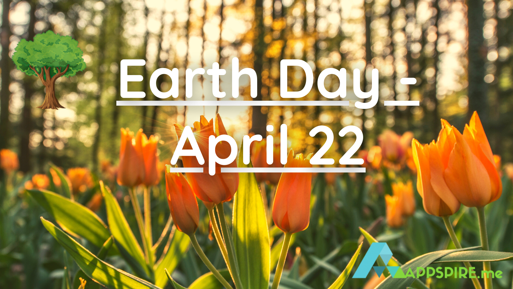 Earth Day is on Thursday, April 22, 2021